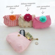 Purse Louise Tutorial Sewing Pattern