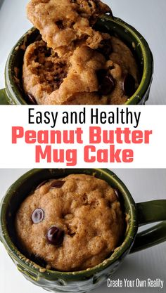 Looking for an easy healthy mug cake recipe This peanut butter mug cake is made with almond flour and plenty of protein making for a pretty healthy snack And it all comes together in minutes mugcake healthy healthydessert healhtysnack # Easy Mug Cake, Cake Mug, Lemon Mug Cake, Vanilla Mug Cakes, Protein Mug Cakes, Mug Cake Healthy, Healthy Sweets, Healthy Dessert Recipes, Quick Keto Dessert