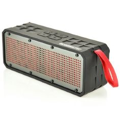 Special Offers - RuggedTec RoqBloq Portable Bluetooth Speaker Outdoor Rugged Water Resistant Dust & Shock Proof (Black/Red) - In stock & Free Shipping. You can save more money! Check It (May 13 2016 at 11:39AM) >> http://wbluetoothspeaker.net/ruggedtec-roqbloq-portable-bluetooth-speaker-outdoor-rugged-water-resistant-dust-shock-proof-blackred/