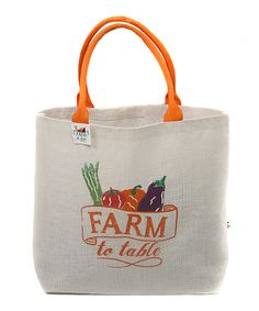 Farmer's market bag!  Perfect;)