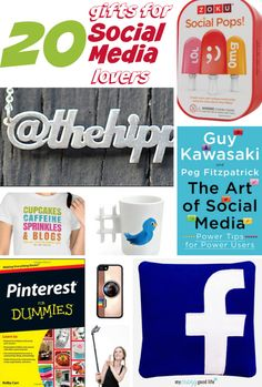 20 Gifts for Social Media Lovers