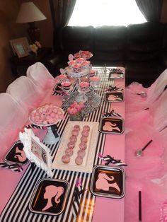 "Photo 1 of 30: Barbie Glam / Birthday ""Layla's 5th Paris Barbie Party"" | Catch My Party"