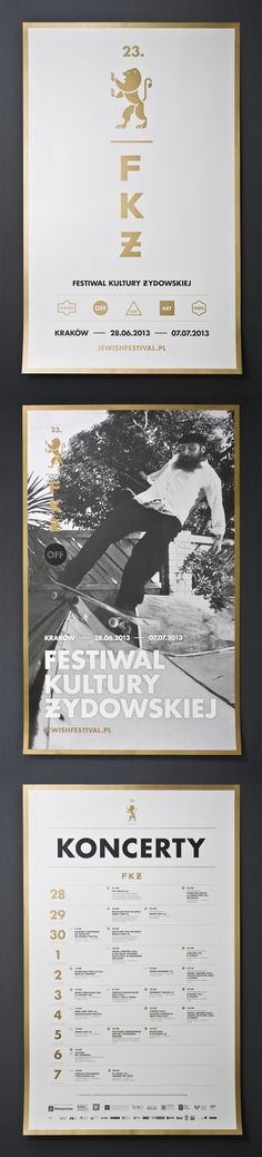 23. Jewish Culture Festival on Behance — Designspiration