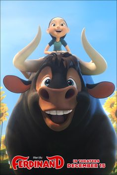 He inspired the world by being himself. See Ferdinand in theaters this Friday!