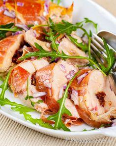 Caprese Salad, Lchf, God Mat, Food And Drink, Chicken, Grilling, Velvet, Insalata Caprese, Buffalo Chicken