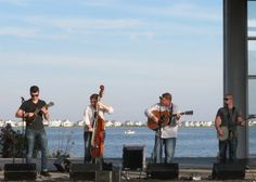 Nu-Blu at the Outer Banks Bluegrass Festival - photo by Woody Edwards