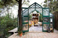 Idillic greenhouse closed to Barcelona (via Bloglovin.com )