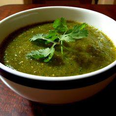 Roasted Salsa Verde @keyingredient #vegetables #easy