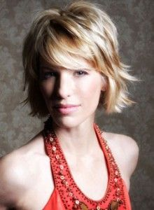 Shaggy....probably can't pull this off.....but I like it.