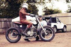 motomood: Honda SLR 650 Spillo by Riders and Officine Mermaid motomood: Honda SLR 650 Spillo by Riders and Officine Mermaid