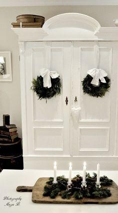 Beautiful white cabinet