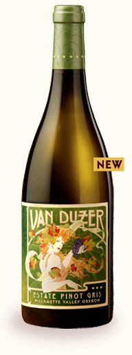 2012 Wine & Seafood Fest Wine featured in our New World Wine Garden!  2011 Estate Pinot Gris