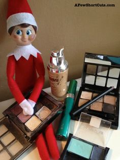 Elf on the Shelf Ideas: All Made Up