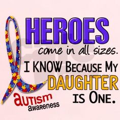 daughter with autism