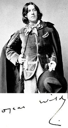Irish poet/playwright, Oscar Wilde, was born on Oct. 16, 1854