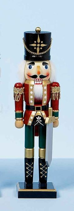 I have a wooden nutcracker to paint, looking for a style.