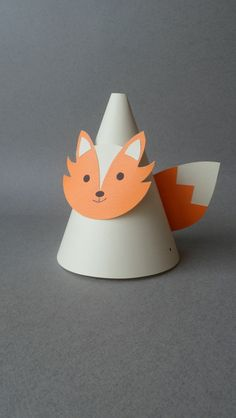 Hey, I found this really awesome Etsy listing at https://www.etsy.com/listing/188093964/fox-themed-party-hats