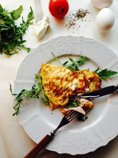 Home and Delicious: food: crepes style omelette