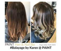Balayage by Karen at PAINT Hair & Nail Bar in Hale, Cheshire