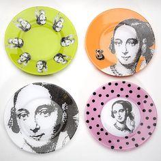 DIY Home Decor DIY Carol Endler Sterbenzs decoupage plates winners