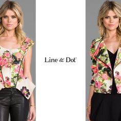 Shop #LineandDot #Resort14 #BotanicalGardenPrint #Collection Available @REVOLVE (revolveclothing.com)  (at Line & Dot)
