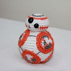 but now it's here! BB8 from star wars can be joining with you even this weekend. It's a really funny creature and it was fun to create.