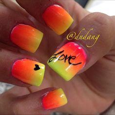 Bright nails  | See more nail designs at http://www.nailsss.com/nail-styles-2014/2/