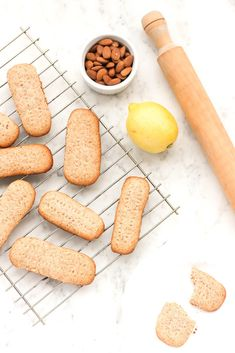 Crispy grain-free shortbread cookies that has the fragrance of citrus lemon mixed with the natural sweetness of honey. So incredibly good.