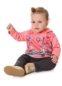 Tem novidades em nossa loja virtual!!  Conjunto Brandili Moletom Girl Cute com Capuz e Calça de Moletom!  Venha conferir em: www.purezababy.com.br/conjunto-brandili-moletom-girl-cute-com-capuz-e-calca-de-moletom
