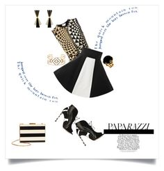 """""""Paparazzi"""" by shoecraycray ❤ liked on Polyvore featuring FAUSTO PUGLISI, Sergio Rossi, Stella & Dot and Valentino"""