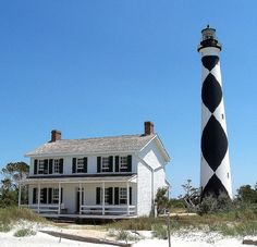 in the southern outerbanks, cape lookout is a beautiful place to spend the day. travel by boat or a very long swim only.