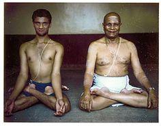 Guruji and Sharath