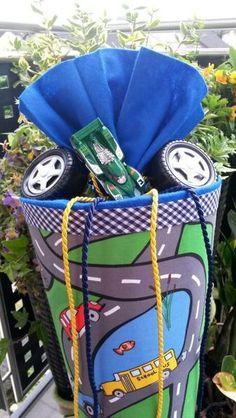 Auto & Straßen - Schultüte/Zuckertüte von XBergDesign2 auf DaWanda.com