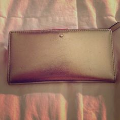 Kate spade wallet Gold leather kate spade wallet kate spade Bags Wallets