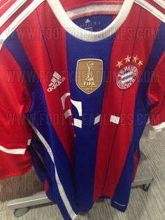 FC BAYERN MÜNCHEN 14-15 HOME AND THIRD KITS LEAKED!