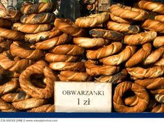"Obwarzanki - The better ""bagels"" - a tradition from Krakow"