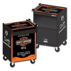Harley-Davidson® Oil Can Beverage Cart HDL-13004