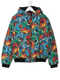 Kenzo Kids' Dragon Print Bomber Jacket In Black Printed Bomber Jacket, Black Bomber Jacket, World Of Fashion, Kids Fashion, Fashion Design, Kenzo Kids, Dragon Print, Cool Kids, Kids Outfits