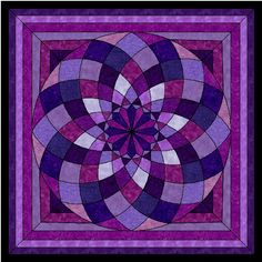 Free giant dahlia Quilt Pattern Requested