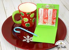 Doodlebug Design Inc Blog: Hot Chocolate Holder - Sweet Treat Gift Idea by Tya