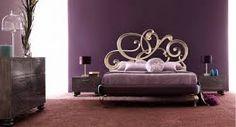 Dormitorios morados, violetas y lilas