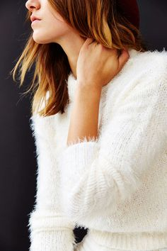 I want all the fuzzy sweaters.