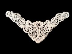 Sewing Material Cotton Chemical Motive Lace Ivory (n006) 1pcs #Ansoyoung