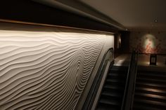 At this years Index Dubai: Armourcoat Panels. Many of Armourcoat lines are made from natural minerals, including recycle marble powder. http://www.archello.com/en/product/sculptural-panel-armourcoat http://www.archello.com/en/event/index-dubai #Design #Panel #Interior