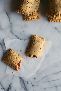 Cranberry & Orange Zest Pop Tarts with Ginger Glaze | Dolly and Oatmeal