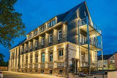 Unser AKZENT Hotel Villa SAXER heißt Sie in historischen Hallen willkommen.