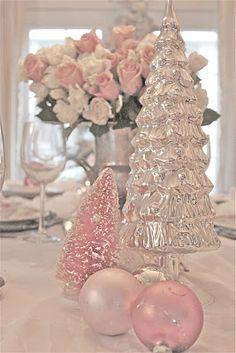 Pretty pink Christmas