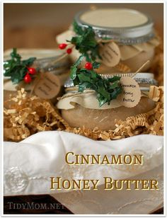 10 Lovely Handmade Christmas Gifts- plus this sounds a bit tastier than just apple butter