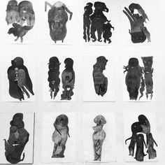 THE WONDERFULLY DARK SHADOWS OF IRANIAN POPULATOR DAVOOD KOOCHAKI // THE MUSEUM OF EVERYTHING AT KUNSTHAL ROTTERDAM // http://www.kunsthal.nl/en/exhibitions/the-museum-of-everything/ // @musevery #musevery #iran #portrait #identity #vision
