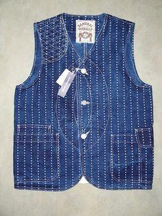 """Samurai Jeans Hunting Vest """"Shuriken"""" Wabash Style shop DC4 (DE)"""